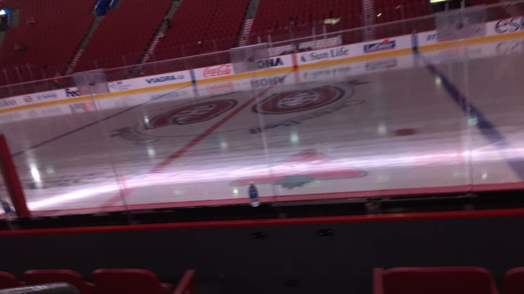 Bell Centre ice