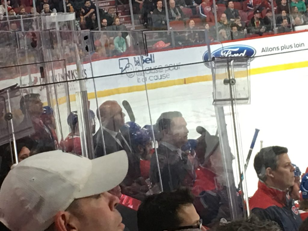 Coaching team of the Habs